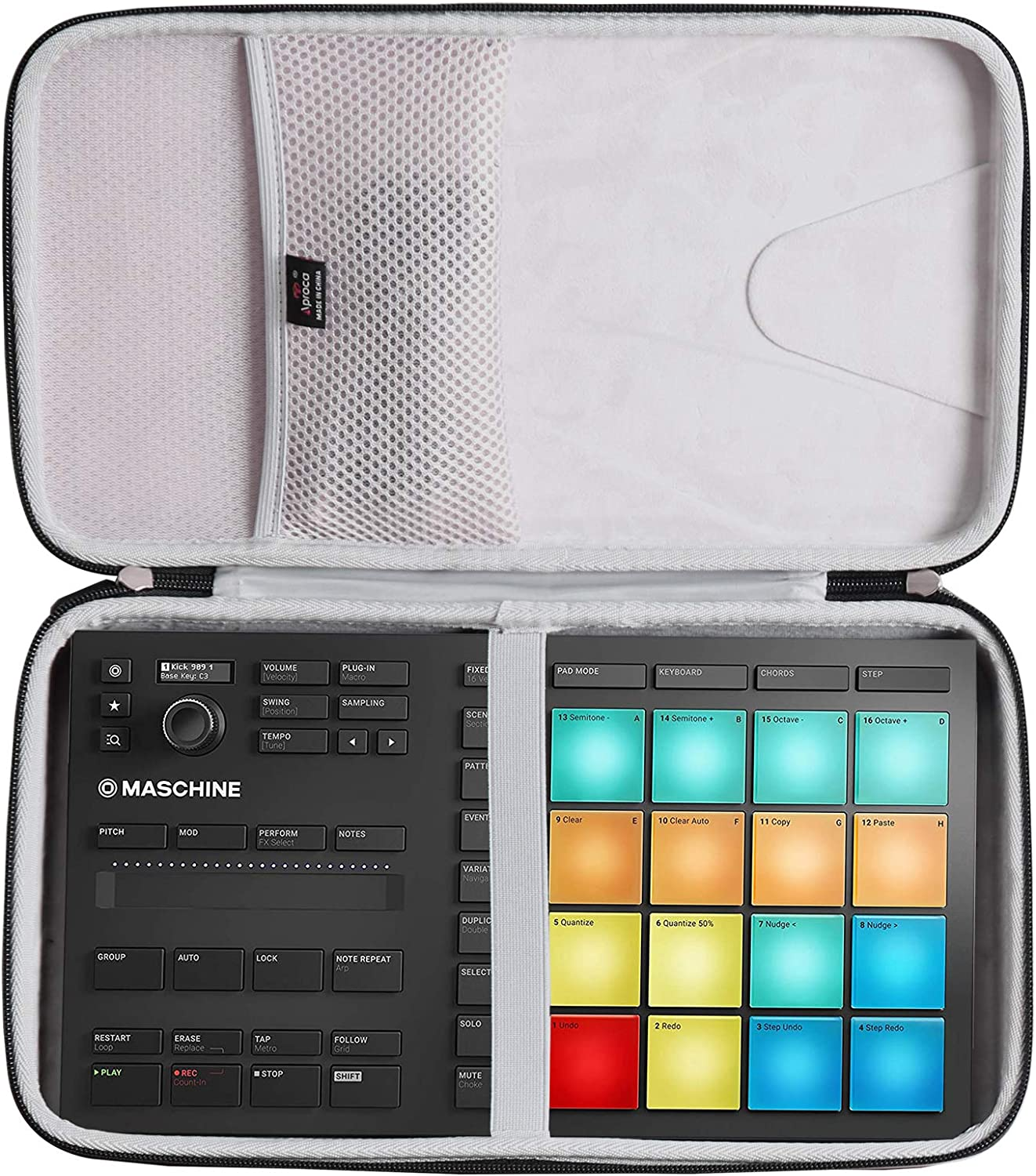 Aproca Hard Travel Carrying Case Maschine for Native It is very popular New life Instruments