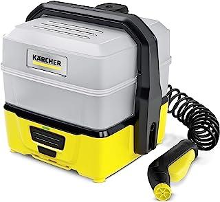 Kärcher Mobile Outdoor Cleaner OC 3 Plus (bardzo duża pojemność zbiornika na wodę: 7 l, akumulator litowo-jonowy, wąż spir...