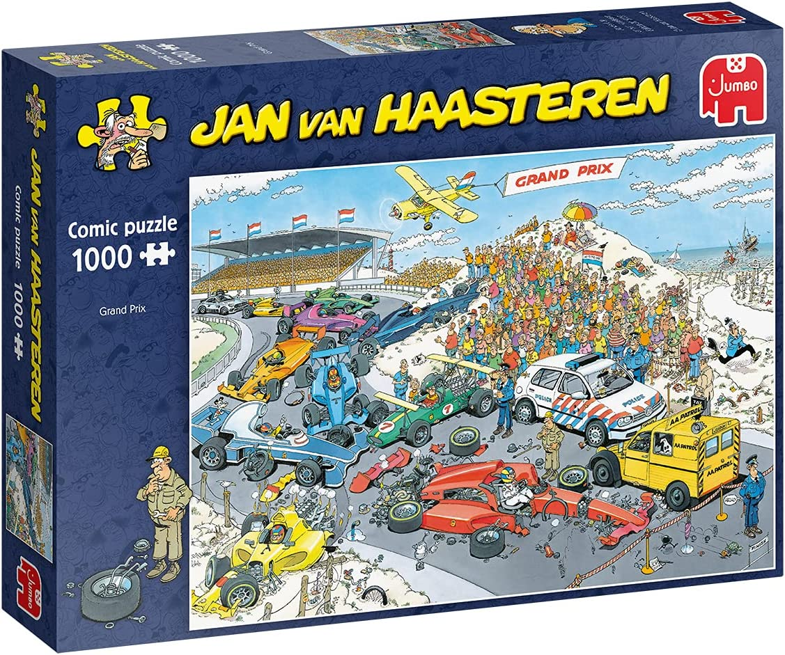 Jumbo Jan Van Factory outlet Max 81% OFF Haasteren - The Adults for Jigsaw Puzzles Start