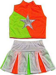 Best green and orange cheerleader costume Reviews