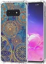 Galaxy S10e Case, Ailiber Hippie Gypsy Retro Vintage Mandala Time Wheel Gear Magic Circle Thin Light Shock Absorption Soft TPU Bumper Protective Cover for Samsung Galaxy S10 e Lite 5.8 inch - Totem