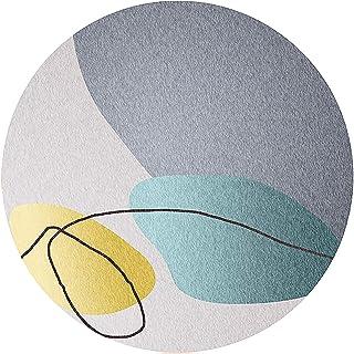 alfombra para silla gaming Alfombrilla Redonda Para Sillas Para Suelos De Madera, Silenciosa Y Resistente A Los Arañazos, Alfombrilla Antideslizante, Superficie Resistente Al(Color:segundo,Size:100cm)