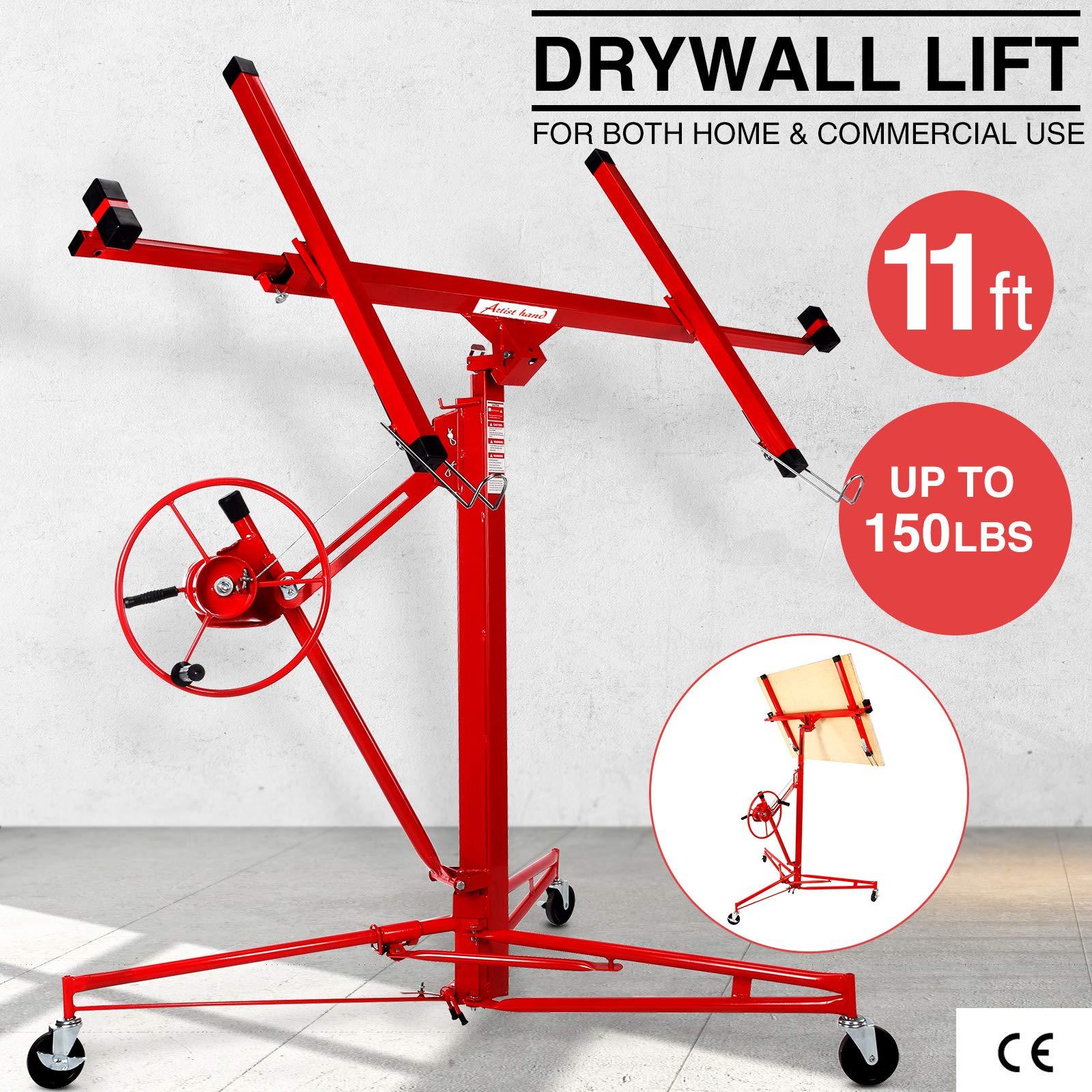 Drywall Lifter Rolling Sheetrock Construction