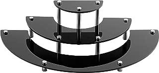 3 Tier Black Acrylic Semicircle Dessert Cupcake Display Stand Rack