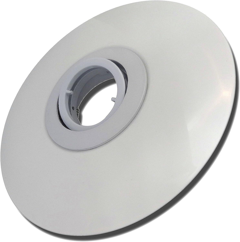 4 Stück Decken Einbaustrahler Big Laura 230 Volt Ohne Leuchtmittel Schwenkbar inkl. Fassung GU10 Wei