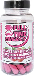 Full-Time Energy Diet Pills That Work Fast for Women | Ultimate Keto Fat Burners Specifically for Women | Healthy & Natural Weight Loss Pills to Burn Fat, Suppress Appetite & Improve Energy