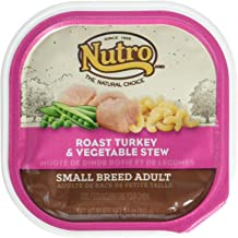product image for Nutro 50411778 Roasted Turkey & Vegetable Stew Can Small Breed Dog Food, 24 Ea/3.5 Oz