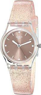 Swatch Women's 1804 Time Quartz Silicone Strap, Pink, 13 Casual Watch (Model: LK354D)