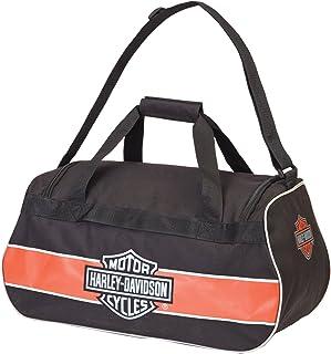 Harley-Davidson Logo Sport Duffel/Rust/Black, Rust/Black (brown) - 99418 RUST/BLACK
