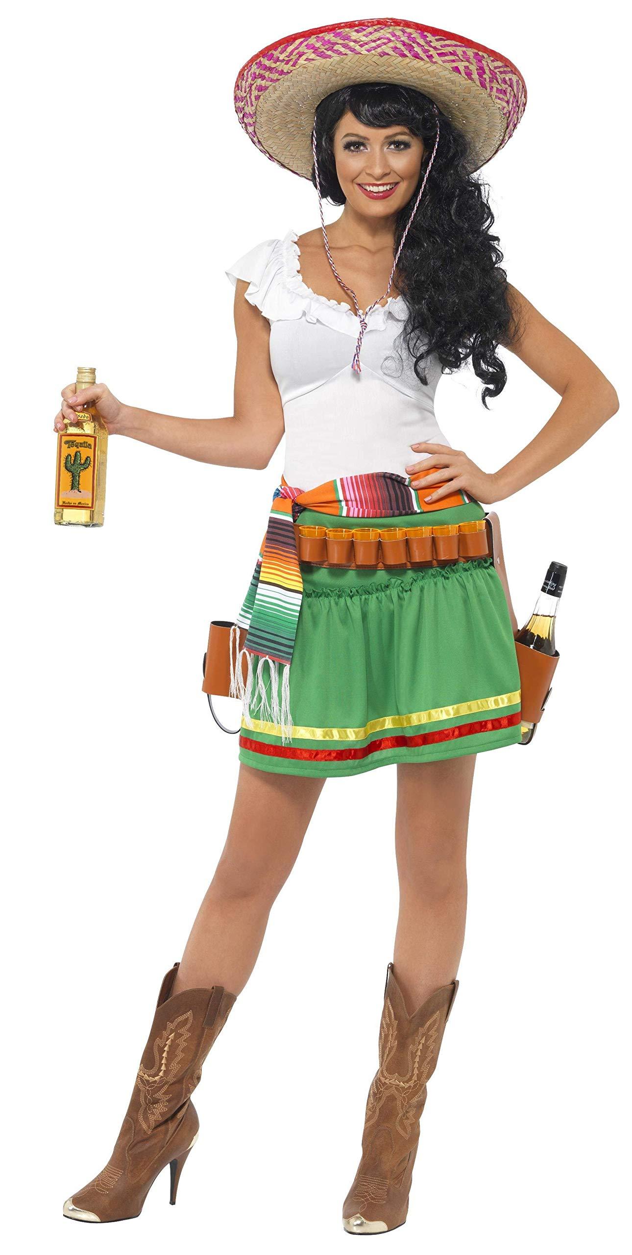 Smiffys-29132M Miffy Disfraz de tiradora de Tequila, con Vestido ...