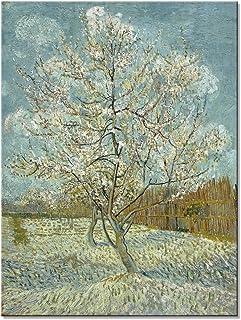 Wieco Art–Cuadro El Melocotonero de Van Gogh,