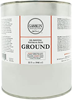 Gamblin Oil Painting Ground 32 oz.