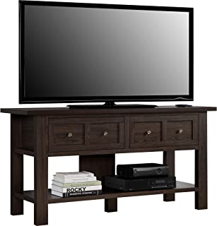Ameriwood Home Pillars Apothecary TV Stand for TVs up to 55