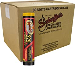 Schaeffer Manufacturing Co. 02292-029 Ultra Red Supreme Grease, NLGI #2, 14 oz. (Pack of 30)