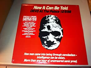 Devo - Now It Can Be Told, Devo At The Palace 12/9/88 [2 LP] (3-sided, 4th side is etched, Live album)