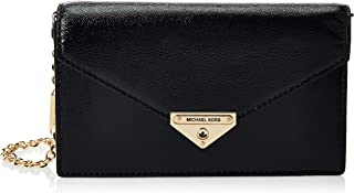 MICHAEL KORS Womens Medium Envelope Clutch Bag, Black - 30H9GGHC2A