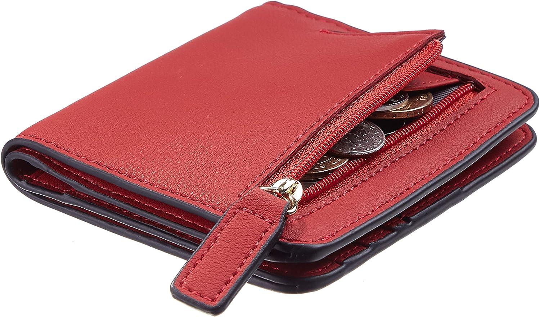 Gostwo Womens Choice Rfid Blocking Small Bifold Cheap bargain Luxury Compact Genuine