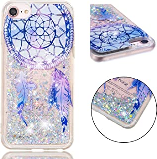iPhone 6S Plus Case, iPhone 6 Plus Case, ZERMU Ultra Thin Bling Quicksand Flowing Floating Luxury Glitter Waterfall Fusion Moving Liquid Sparkling TPU Bumper Protection Cover for iPhone 6 Plus/6S Plus