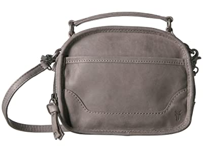 Frye Melissa Top-Handle Crossbody (Ice) Handbags