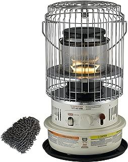 Dyna-Glo WK11C8 Heater, 10500 BTU Convection Indoor Kerosene (Complete Set), with Premium Microfiber Cleaner Bundle