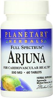 Planetary Herbals Full Spectrum Arjuna Tablets, 60 Count