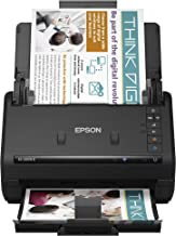 $309 » Epson Workforce ES-500W II Wireless Color Duplex Desktop Document Scanner for PC and Mac, with Auto Document Feeder (ADF) ...