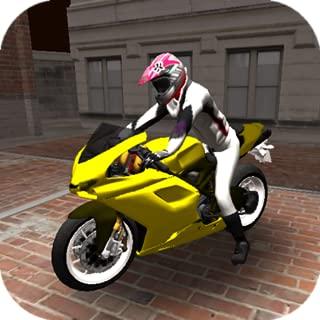 Motorcycle Stunts Cross on Car Road 3D Simulator 2015