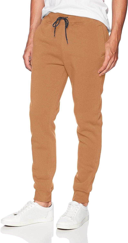 WT02 Men's Basic Max 76% OFF Jogger Wheat Fleece Max 54% OFF 3X-Large Pants