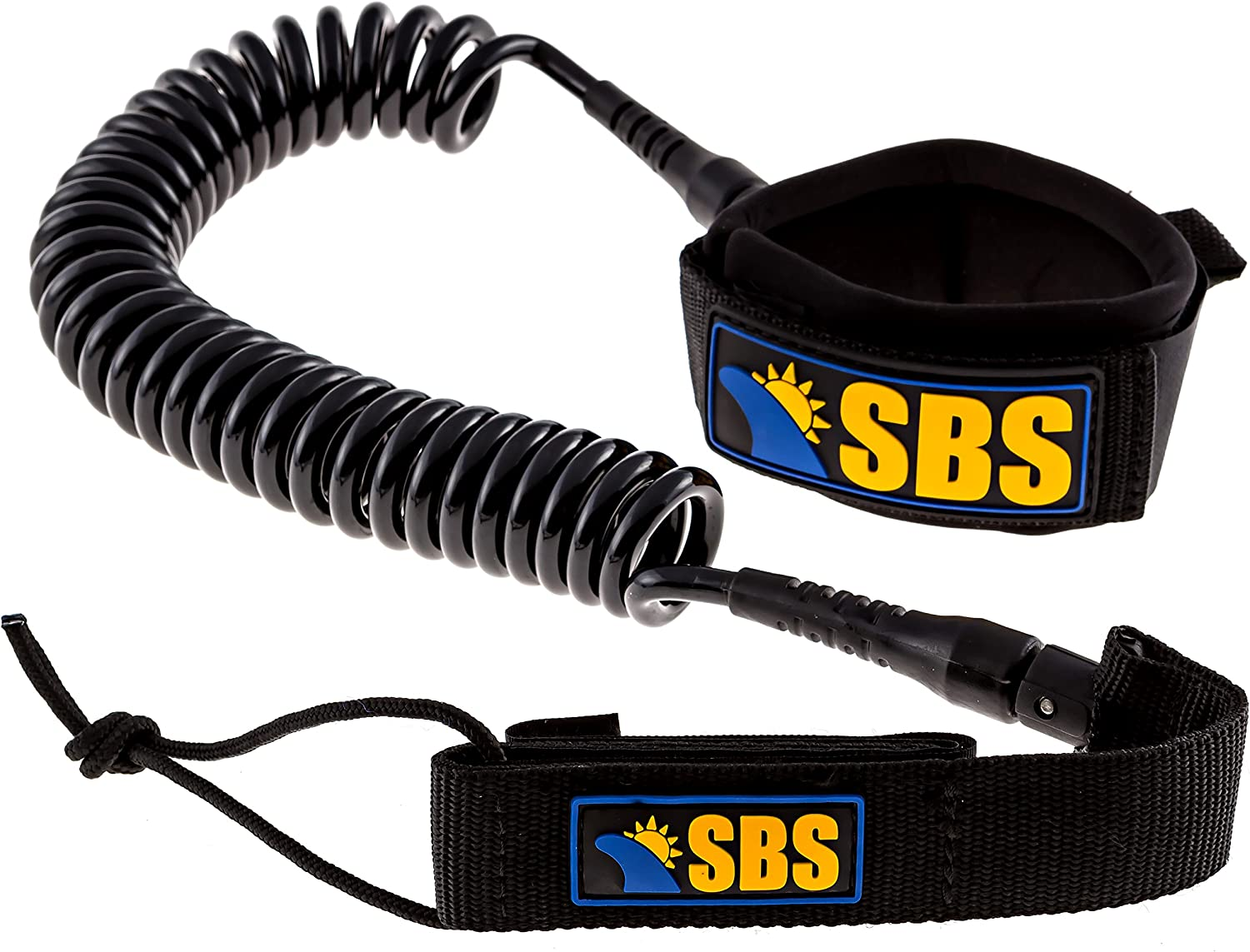 Santa Barbara Surfing SBS 10' Coiled Max 73% OFF It is very popular Leash Guaranteed for - SUP
