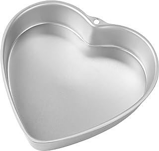 Wilton Deep Heart Cake Pan-9-inch x 2-inch, aluminium, Multicoloured, 7.08 x 26.13 x 26 cm