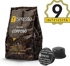 Yespresso Capsule Caffitaly Compatibili Corposo - Confezione da 80 Pezzi
