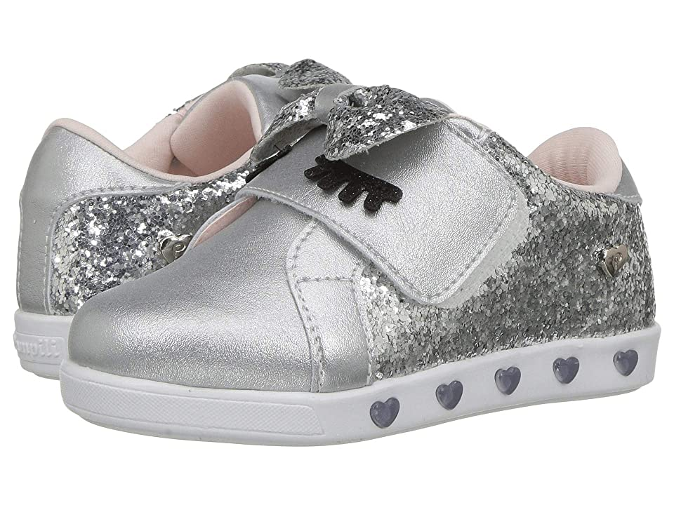 Pampili 165064 (Toddler/Little Kid) (Silver) Girl