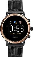 Fossil Gen 5 Julianna Stainless Steel Touchscreen Smartwatch with Speaker, Heart Rate,..