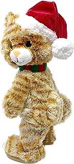 Winter Wonder Lane Animated Plush Toys, Christmas Holiday Decorations Plush Animal Toys, Gift Ideas (Twerking Cat)