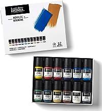 Liquitex 3699322 Acrylic Gouache, Primaries, 6 Colors, Essentials 22ml,