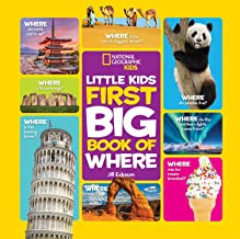 National Geographic Little Kids First Big Book of Where [Idioma Inglés]