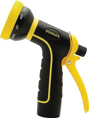 Stanley Garden BDS6703 Accuscape 10-Pattern Adjustable Nozzle, Black/Yellow