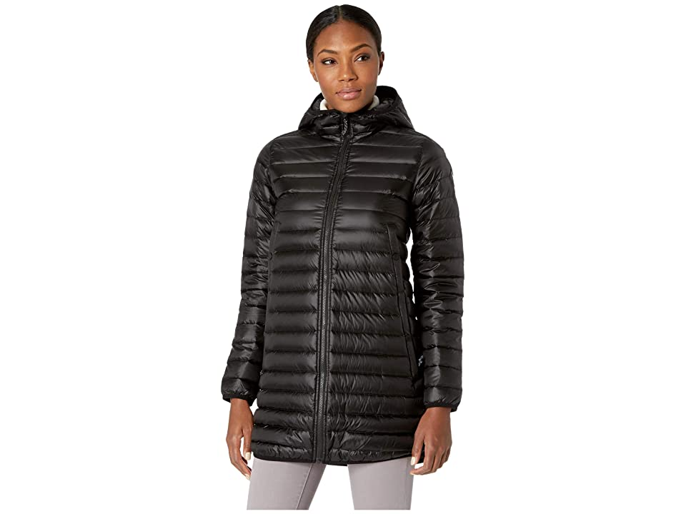Burton Evergreen Long Down Jacket (True Black) Women