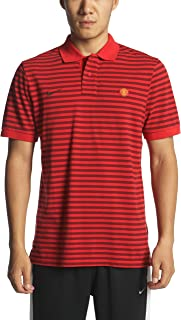 Nike Manchester United Polo auténtico 2010/11 – Red-M: Amazon.es ...