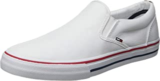Tommy Jeans Men's Textile Slip on Low-Top Sneakers