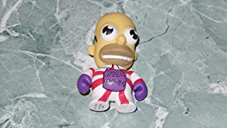 The Simpsons Kidrobot 25th Anniversary Mr. Sparkle Red / White 3