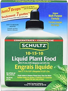 Schultz All Purpose 10-15-10 Plant Food Plus, 8-Ounce