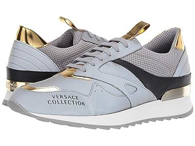 Versace Collection Reflective Runner (Reflective Grey) Men