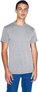 American Apparel Tri-Blend Crewneck Short Sleeve Track T-Shirt, 2-Pack