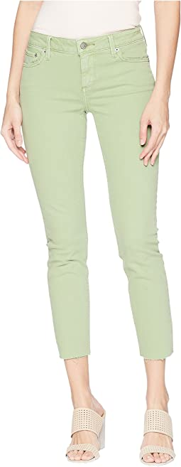 Lolita Crop Cut Hem Jeans in Colorado Desert
