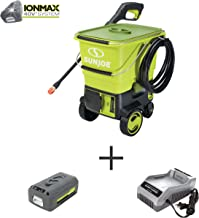 Sun Joe SPX6001C 1160 MAX PSI 40V Cordless Pressure Washer, Kit (w/4.0-Ah Battery + Quick Charger)