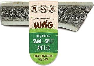 WAG Split Antler Dog Treat, 4 Pack, Small