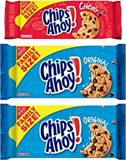 Sponsored Ad - CHIPS AHOY! Original Chocolate Chip Cookies & Chewy Cookies Bundle, Family Size, 3 Packs