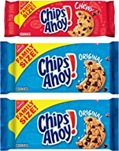 CHIPS AHOY! Original Chocolate Chip Cookies & Chewy Cookies Bundle, Family Size, 3 Packs
