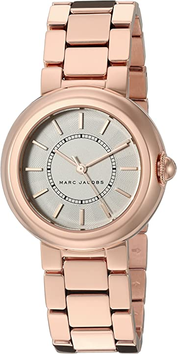 Orologio donna - marc jacobs women`s courtney mj3466 rose-gold stainless-steel quartz fashion watch